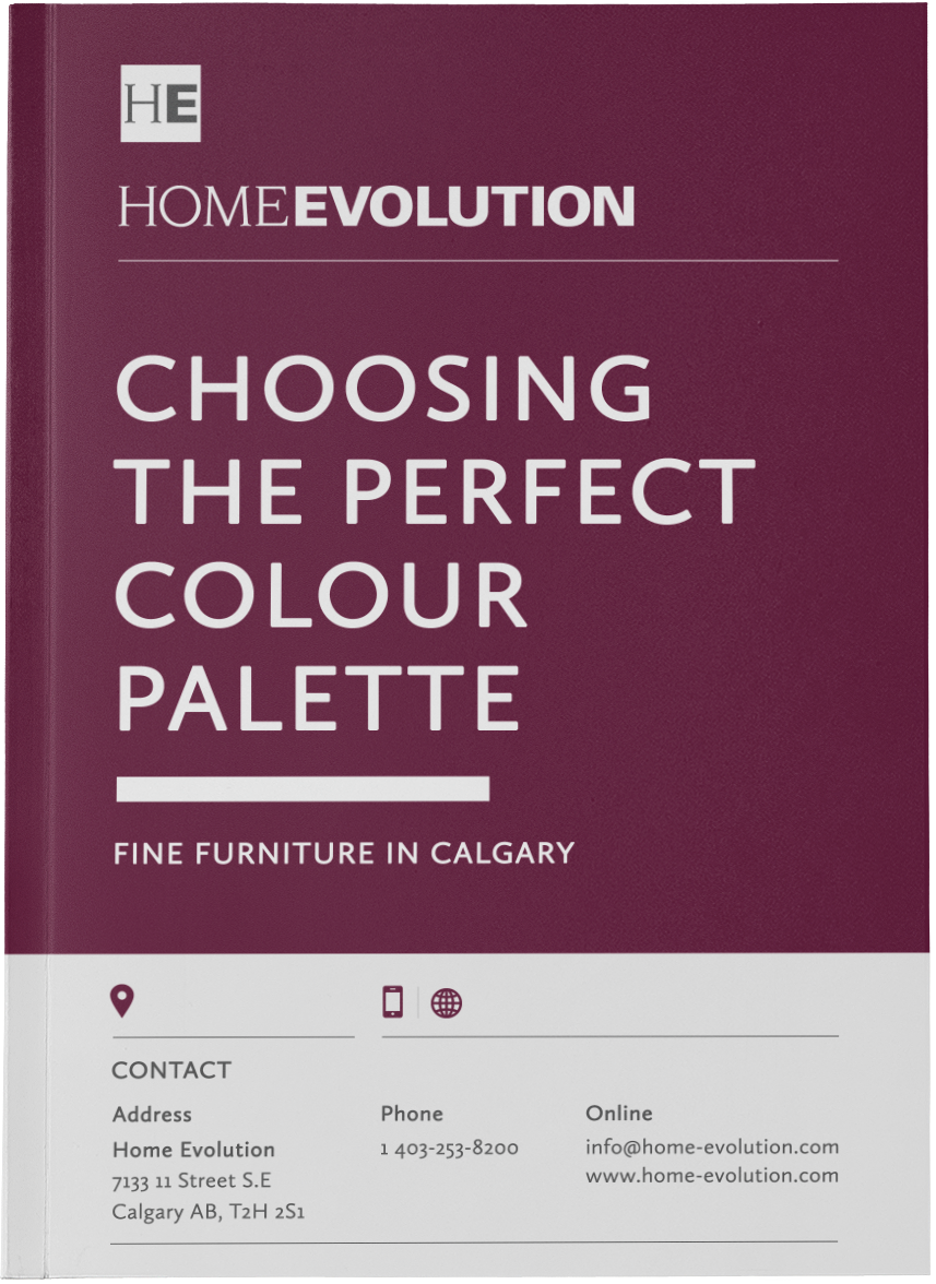 PICK THE PERFECT COLOUR PALETTE FOR YOUR LIVING ROOM