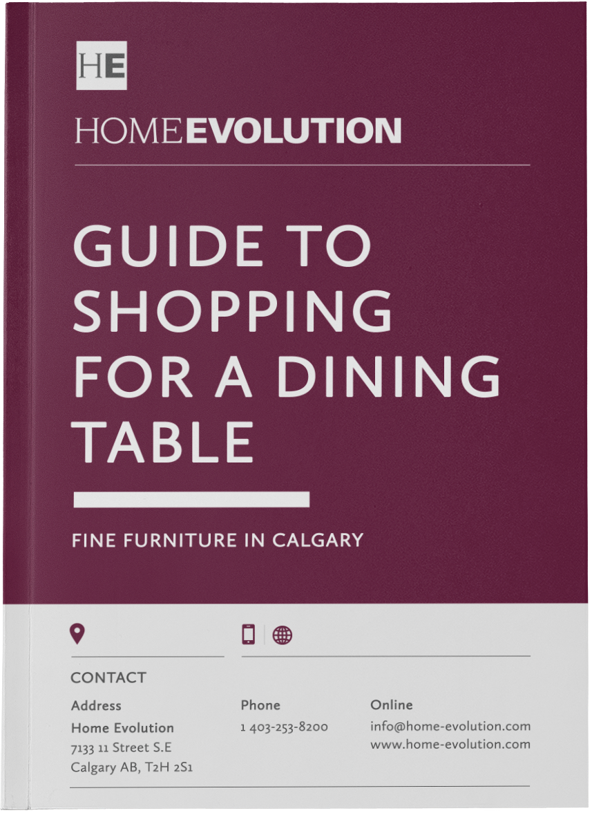 Guide to Shopping for a Dining Room Table